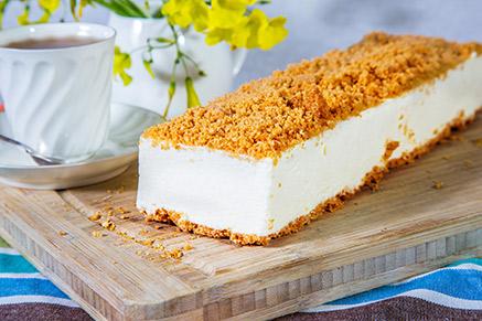 עוגת גבינה פירורים: אין ספק שהיא מלכת החג