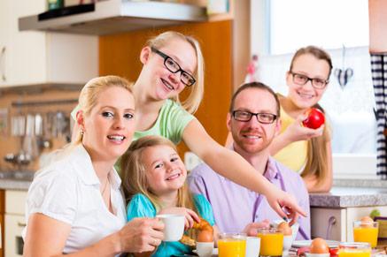 אל תוותרו על ארוחת הבוקר המשפחתית