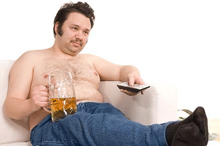 הבירה גם תורמת לכרס שלכם - תפחיתו מעט