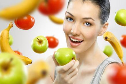 האם דיאטנית אוכלת כל היום פירות וירקות?