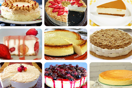 עוגת גבינה מושלמות לשבועות