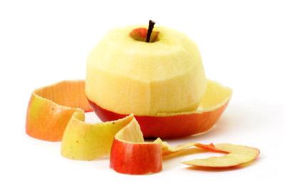 תפוח עץ ללא קליפה