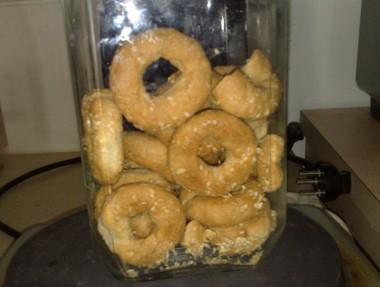 עוגיות שומשום מלוחות