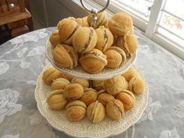 אורשקי - עוגיות אגוזים רוסיות