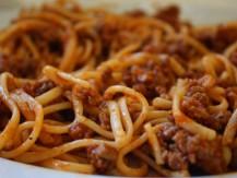 ספגטי עם בשר