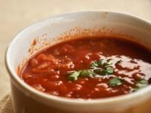 מרק עגבניות ואורז
