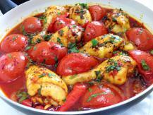 שוקי עוף ועגבניות