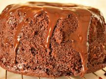 עוגת שוקולית וחלבה