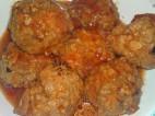 כדורי בשר ברוטב ברביקיו