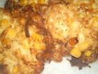 """לביבות תפו""""א, תירס ופטריות"""