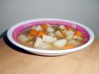מרק ירקות עם קטניות