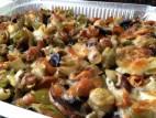 פסטה פטריות אפויות בתנור