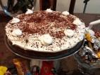 עוגת שוקולד, אגוזים וקוקוס