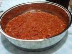 סלט עגבניות ופלפלים מבושלים