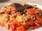 אורז סתיווי מתקתק עם שום שחור