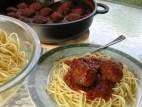 ספגטי עם כדורי בשר