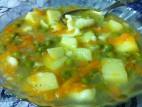 מרק ירקות עם בצקניות ללא גלוטן