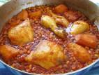 תבשיל עוף עם תירס