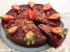 עוגת גנאש שוקולד