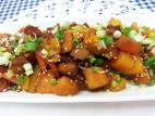 ירקות כתומים בתנור לראש השנה