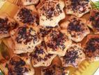 עוגיות גבינה מלוחות בציפוי שומשום שחור