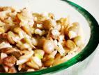 מג`דרה עדשים ירוקות ואורז בסמטי מלא