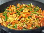 טופו מוקפץ עם ירקות