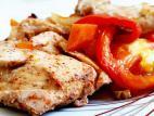 חזה עוף וירקות בתנור