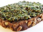ממרח זרעי צ`יה, גרעינים ושמן אגוזי מלך