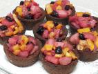 קעריות פתיבר במילוי פירות