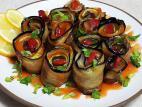 גלילי ירקות מטוגנים