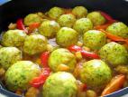 קציצות עוף ברוטב ירקות