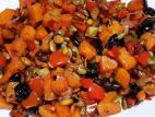 בטטה מקורמלת עם פירות יבשים