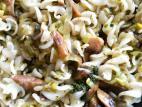 פסטה אורז עם כרישה ופטריות