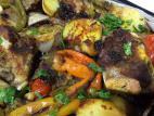 אסאדו בתנור עם ירקות ותבלינים