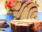 עוגת בבקה שוקולד בריאה מקמח כוסמין