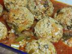כדורי בשר וירקות ברוטב עגבניות