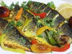פילה לברק עם ירקות