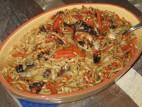 נודלס עם ירקות מוקפצים