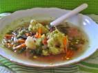 מרק ירקות ארומטי טעים