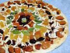פיצה פירות יבשים