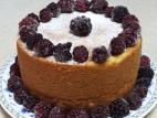 עוגת גבינה אפויה וקלה