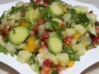 סלט תפוחי אדמה קל וטעים