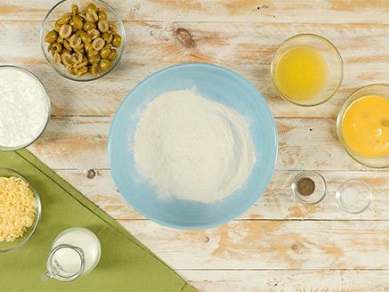 פשטידת זיתים חלבית