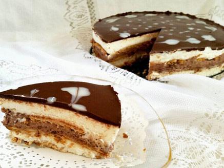 עוגת ביסקוויטים נוסטלגית משודרגת