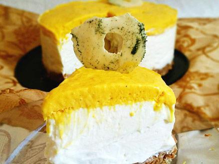 עוגת גבינה ומנגו