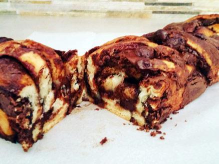 עוגת שמרים נוטלה