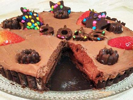 פאי מוס שוקולד ותותים