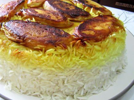 אורז פרסי ביתי