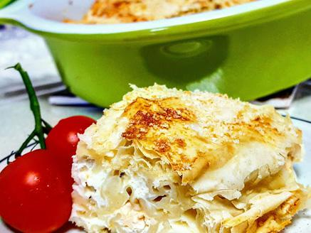 בניצה - מאפה פילו וגבינה בולגרית מסורתי